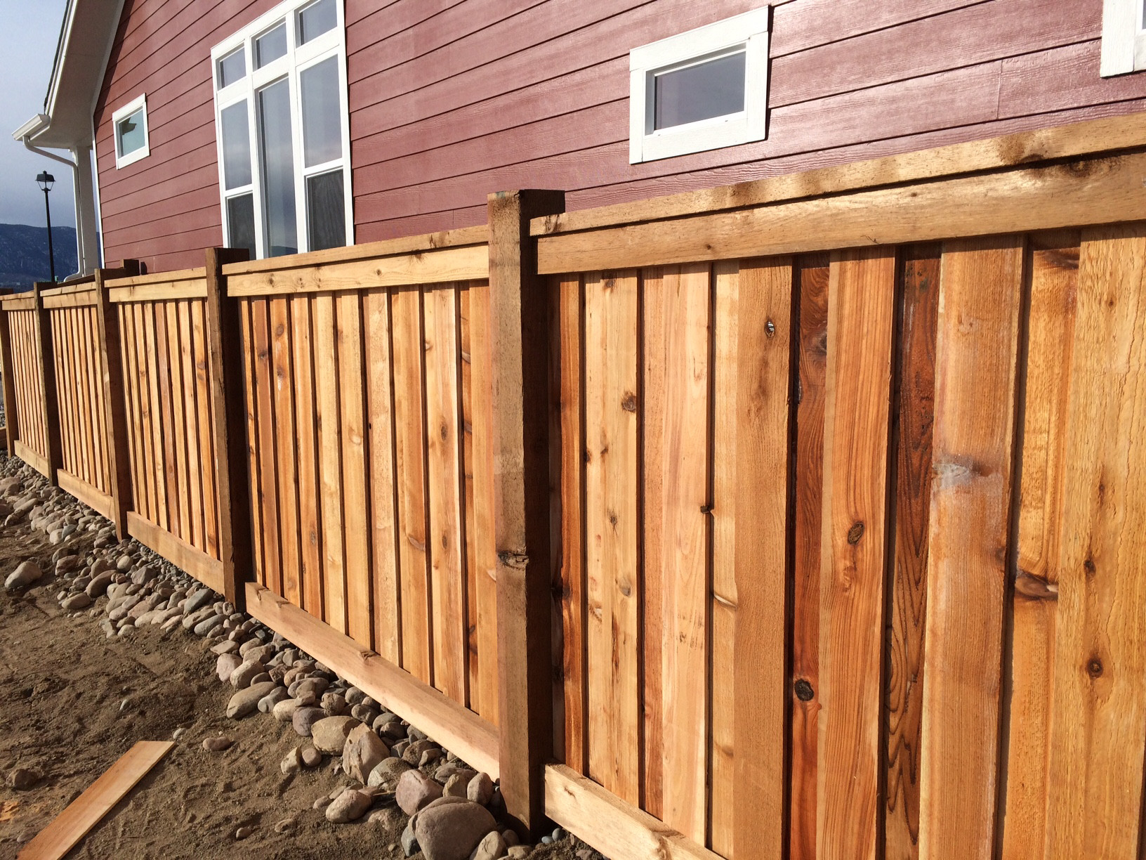 Custom Cedar Privacy Fence Colorado Springs Fence Co
